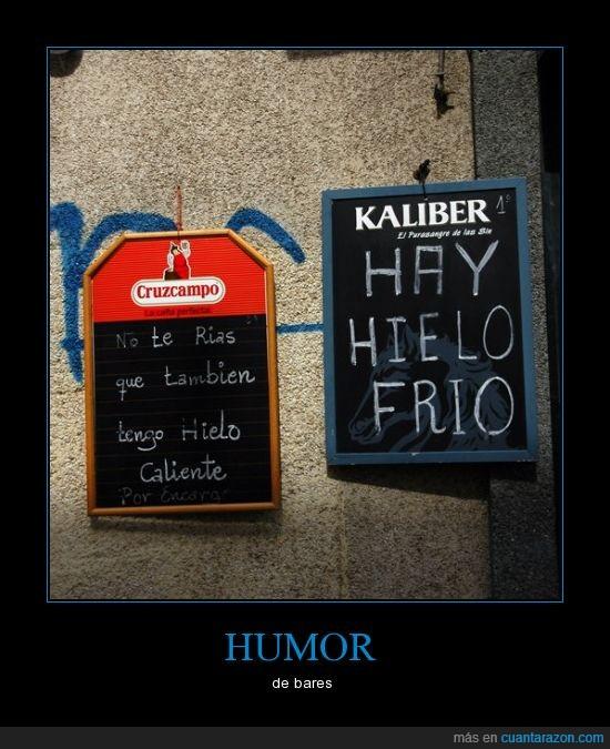 bar,bares,caliente,frio,hielo,humor