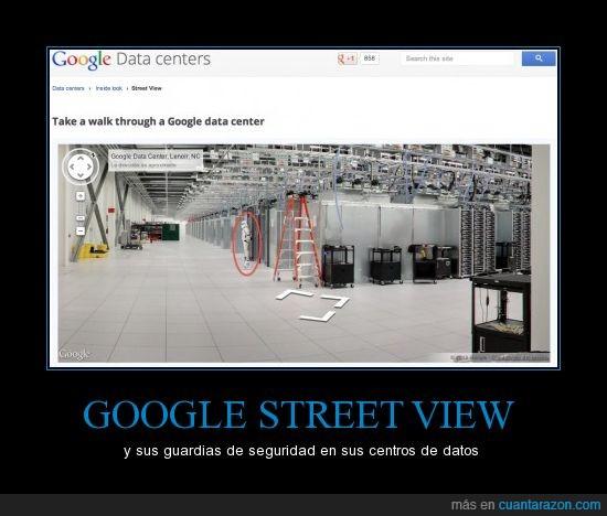 centros de datos,clon,el lado oscuro es muy fuerte en google,google,starwars,stormtrooper,street view,That's suspicious