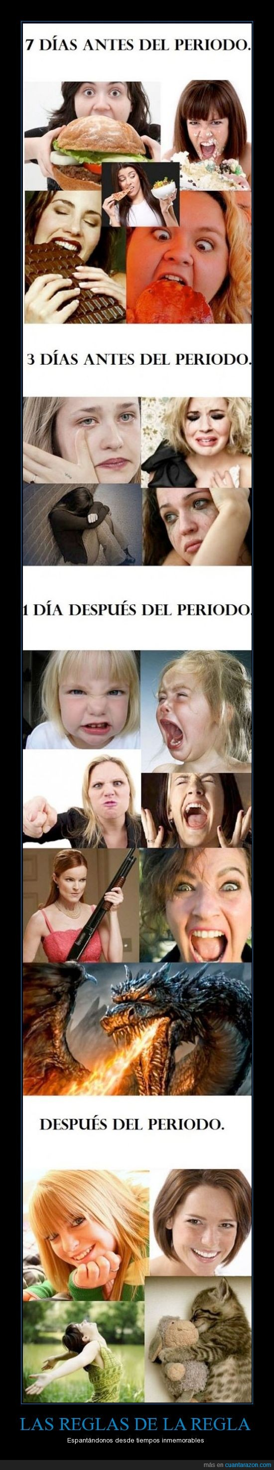 bipolaridad,histeria,Mujeres,periodo,wtf