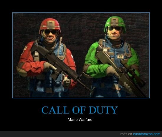bros,call of duty,luigi,mario,super
