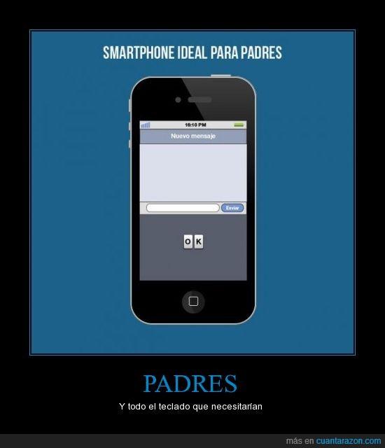 adaptadp,apple,iphone,ok,padre,smartphone,teclado