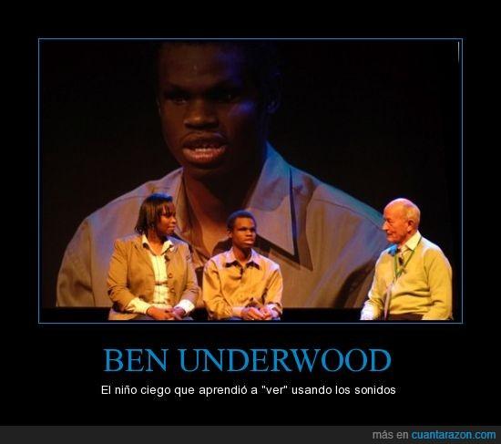 Ben Underwood,ciego,habilidad,sonidos,ver