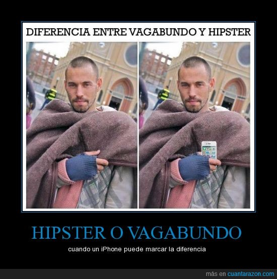 hipster,iphone! Ridiculously photogenic homeless,tecnologia,vagabundo