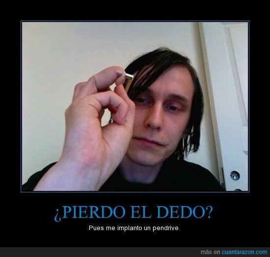 dedo,Jerry Jalava,loco,pc,pendrive