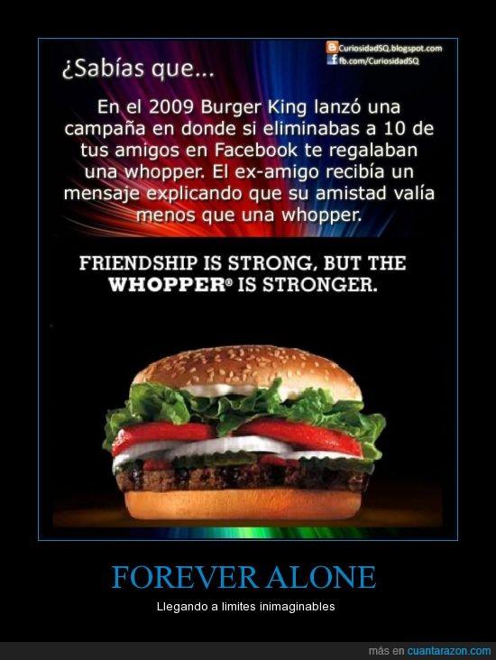 amigo,burger,elimina,facebook,hamburguesa,king,whopper
