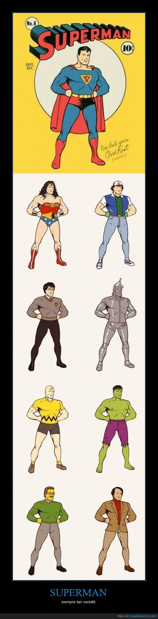 ash ketchum,charlie brown,DC COMICS,harry potter,heroe,hulk,ned flanders,superman,tinman,wonderwoman