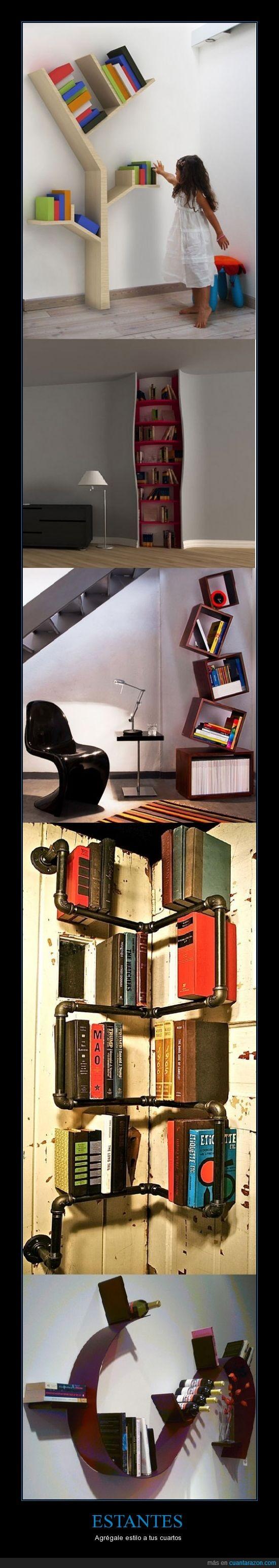 adornar,estantería,estantes,estilo,habitación