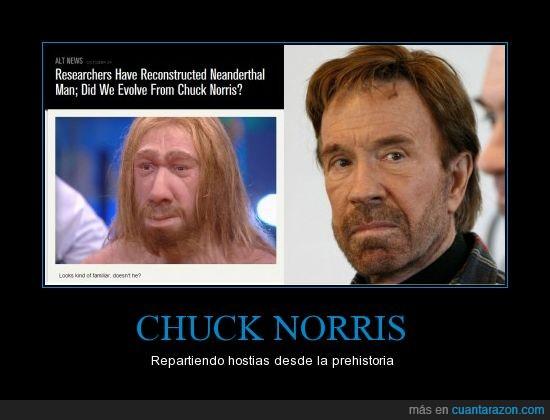 Chuck,Es un Dios,Inmortal,Mato a los dinosaurios,Neanderthal