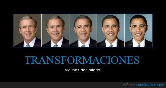 bush,obama,photoshop,proceso,transformacion