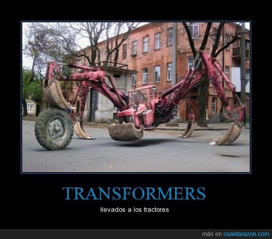 cangrejo,coche,patas,tractor,tranformer