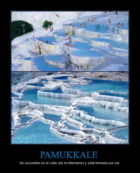 algodón,pamukkale,sal,Turquía,valle del río Menderes