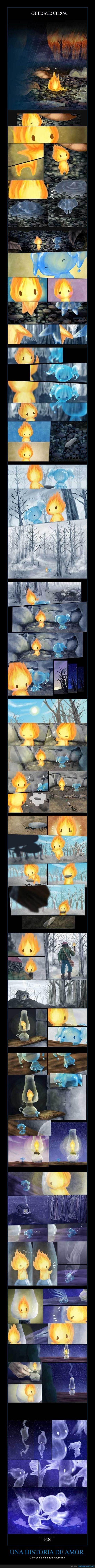 agua,amor,fuego,historia