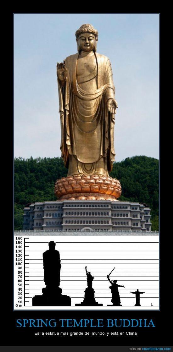 buda,buda del templo de primavera,china,estatua,grande,templo