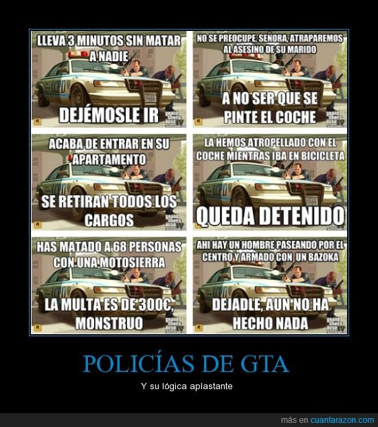 bazooka,grand theft auto,gta,lógica,policia