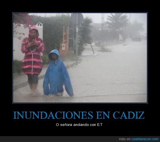 agua,andar,bajito,cádiz,chubasquero,et,lluvia,niño