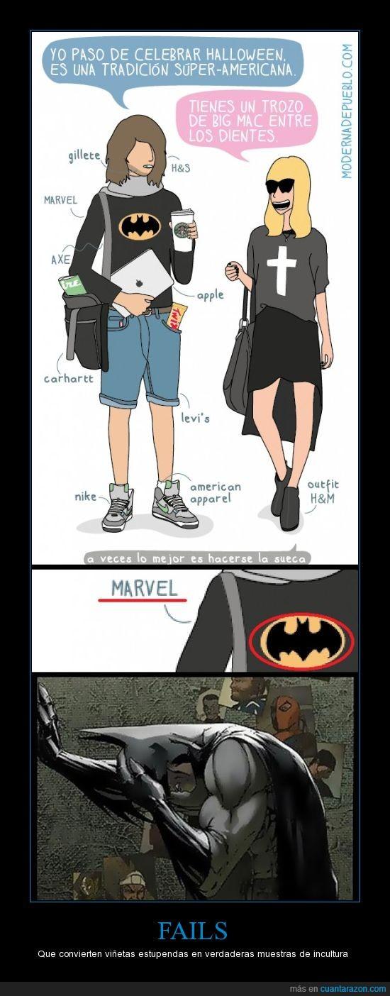Batman,Fail,MARVEL,Modernadepueblo