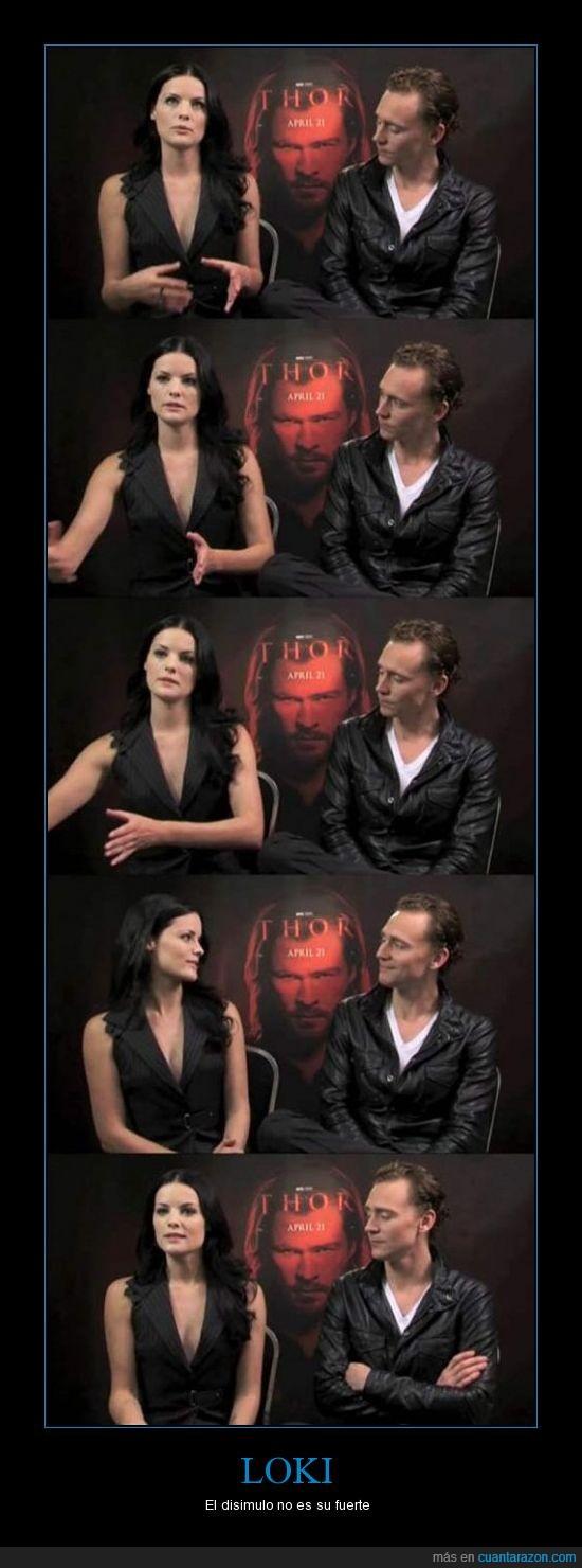 disimular,el si que sabe,LOKI,pelicula,Thor