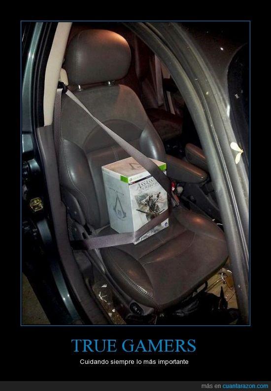 Assesin Creed,cinturon,coche,conducir,Cuidar,Gamer,xbox