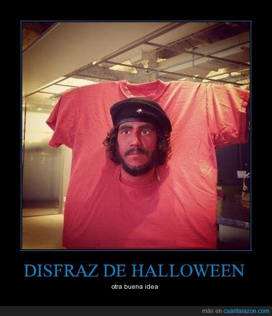 che,disfraz,guevara,halloween,sudamerica