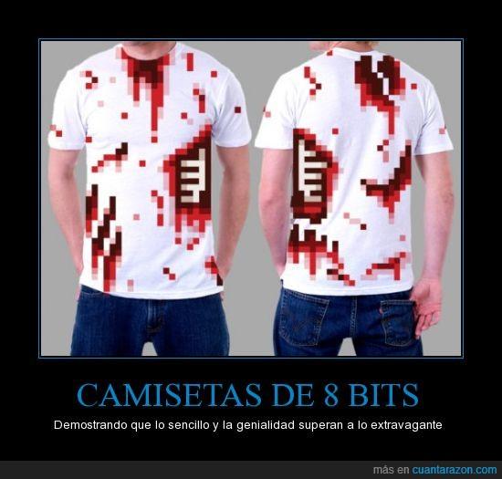 bit,camiseta,costilla,retro,sangre,zombie
