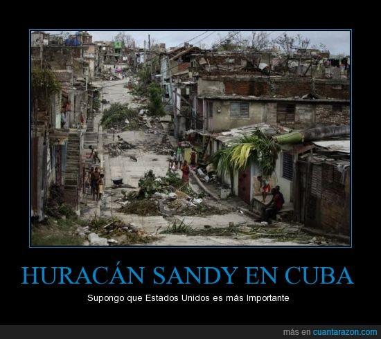 Cuba,Desastre Natural,EE.UU.,Estados Unidos,Huracán,Sandy