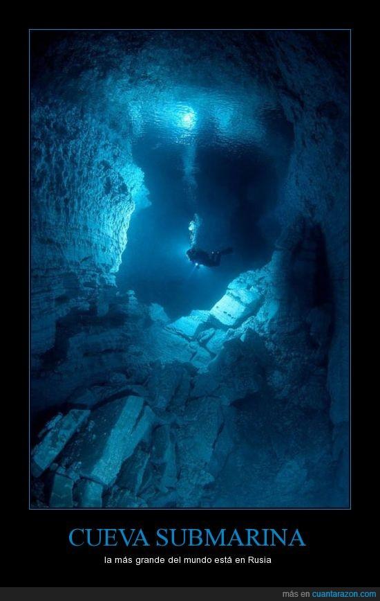 cueva,grande,me ahogo de pensarlo,subacuatica,submarina
