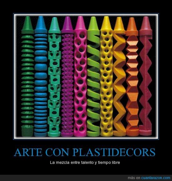 arte,plastidecors,precioso,pues yo los uso para colorear,talento,tiempo libre