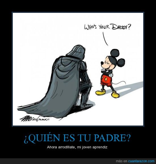 darth vader,derechos,Disney,George lucas,lucasfilm,mickey mouse,star wars,¿porque se vendio?