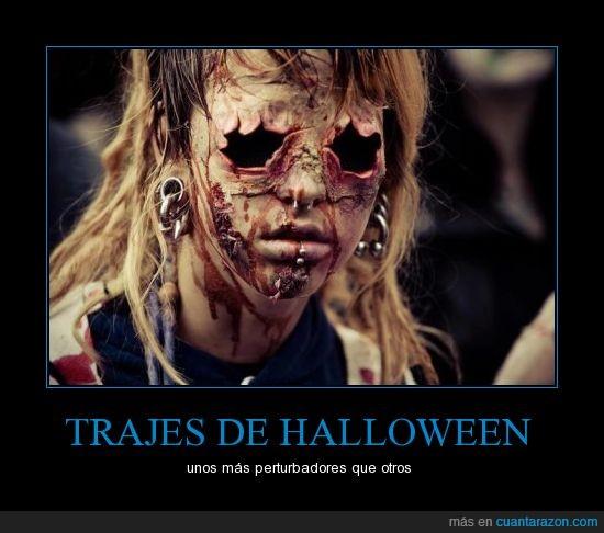 disfras,fiestas,halloween,noche de brujas,octubre,perturbadores,traje,zombie