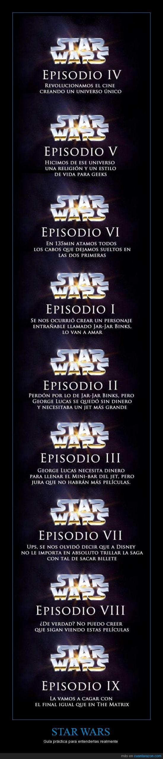 cagar,disney,episodio,guerra de las galaxias,lucasfilm,nombre,real,revolucion,star wars,titulo