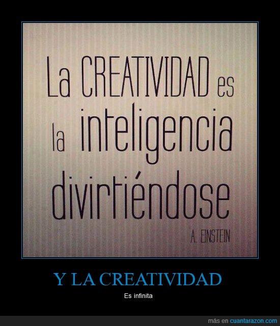 Albert Einstein,creatividad