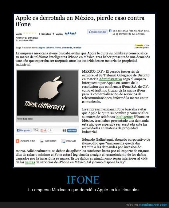 apple,demanda,iphone,mexicano,mexico