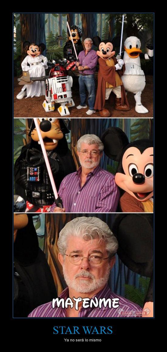 Disney,george lucas,lucasfilm,Star wars