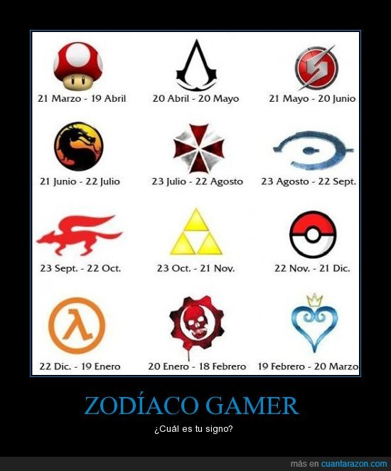 consola,friki,gamer,juego,kingdom,mario,mortal kombat,pokemon,signo,zelda,zodíaco