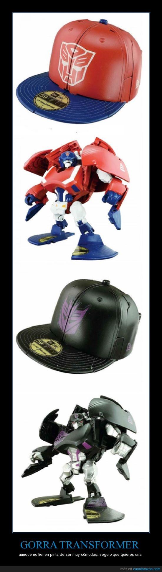 Gorra,megatron,rapero,Transformers
