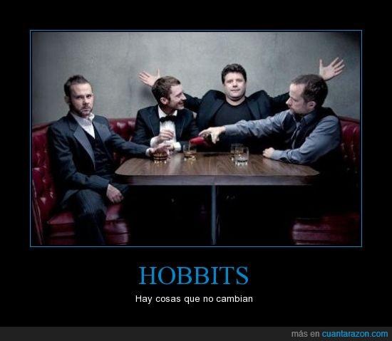 frodo,luego de destruir el anillo vino la fama,merry,pippin,sam,seños de los anillos,the hobbit