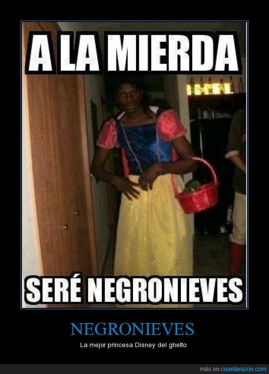 blancanieves,disfraz,ghetto,negronieves
