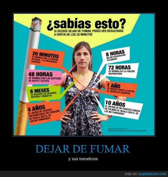 beneficios,dejar,fumar,pulmones,salud