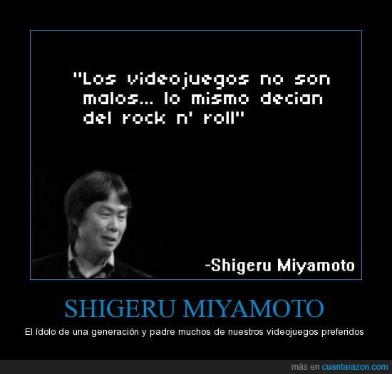 gamer,link,malo,mario,miyamoto,nintendo,rock,shigeru,zelda