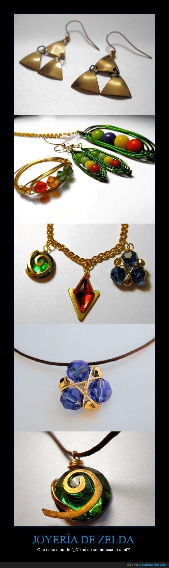 joyas,joyeria,legend of zelda,originalidad,trifuerza,Zelda