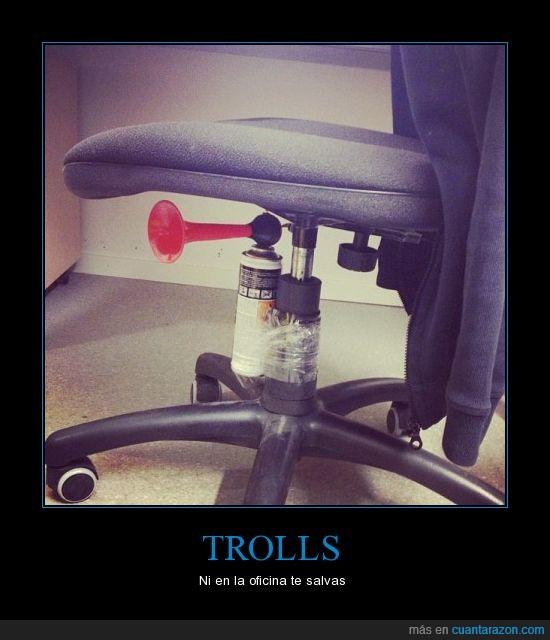 oficina,salvas,susto,troll,trolldad