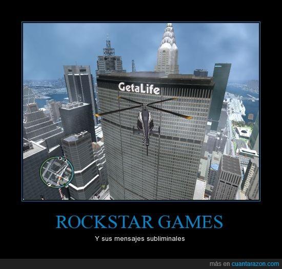 edificio,get a life,GetALife,GTA IV,helicoptero,Rockstar,vida
