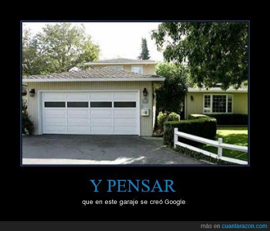 buscador,crear,garaje,Google,inicio