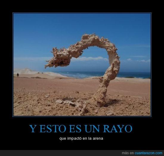 arena,escultura,playa,rayo,relampago,tierra
