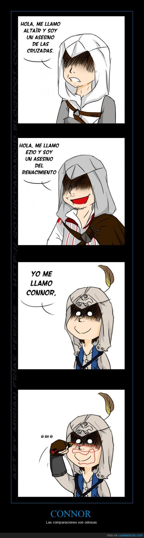 altair,asesino,assassins,connor,creed,ezio,juego,pc,playstation,ubisoft,xbox