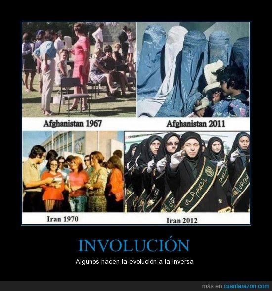 afghanistan,burka,dictaduras,evolucion,involucion,iran,tapa