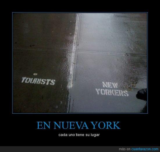 acera,broma,diferencias,fake,nueva york,tu por ahí yo por aquí,turistas