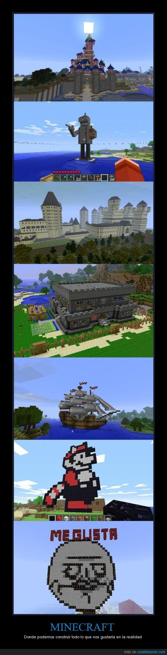 barco,construir,divertido,juego,mario,me gusta,minecraft,realidad