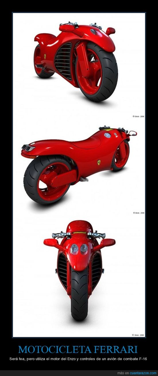 Enzo,F-16,Ferrari,Motocicleta,Potencia,Velocidad