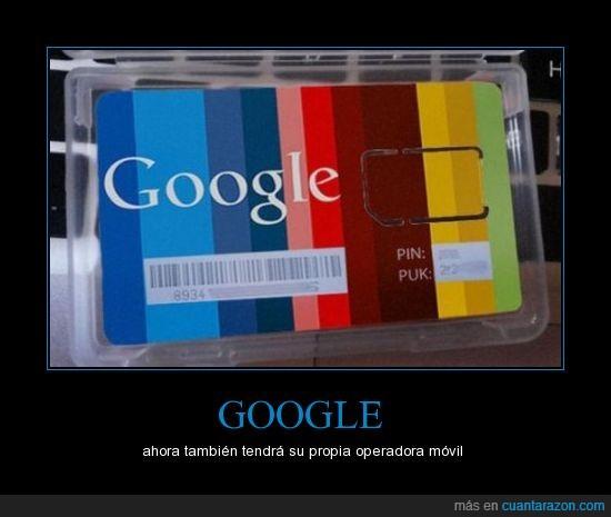 card,compañia,google,noticias,operadora móvil,sim,targeta
